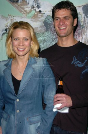 Laurie Holden and Brad Stedem