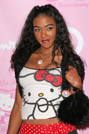 Photo for Ananda Lewis at the Hello Kitty 30th Anniversary Party, Raleigh Studios, Hollywood, CA 11-10-04 - Royalty Free Image