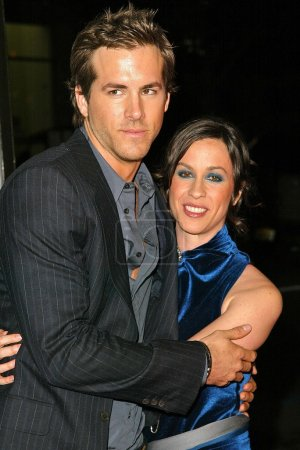 Ryan Rynolds and Alanis Morissette