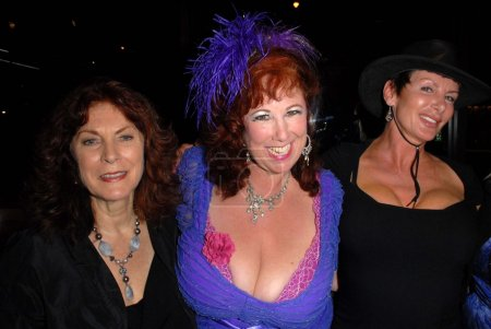 """Kay Parker, Annie Sprinkle, Sharon Mitchellat the """"Golden Goddesses"""" Book Launch Gala Event, Hustler Hollywood, West Hollywood, CA 11-29-12"""