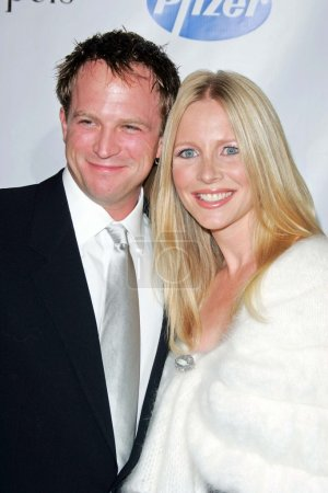 Lauralee Bell with husband Scott Martin
