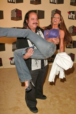 Ron Jeremy and Tabitha Stevens