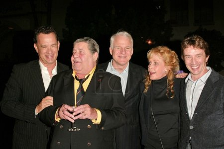 Tom Hanks, Jerry Lewis, Steve Martin, Stella Stevens and Martin Short