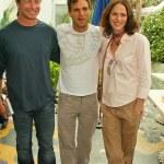 Simon Baker, Jorja Fox and Mark Ruffalo At the Rip...