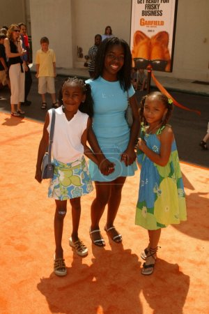 Camille Winbush and cousins Zurie