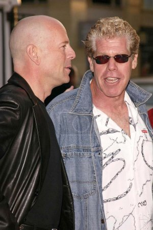 Poster: Bruce Willis and Ron Perlman