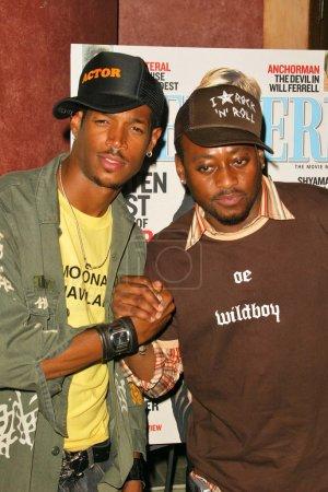 Marlon Wayans and Omar Epps