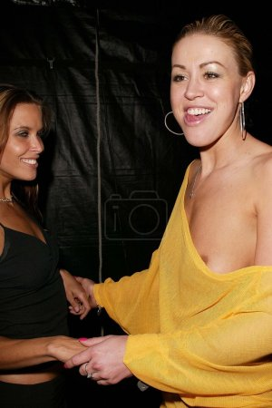 Kim Phillips and Sara Jean