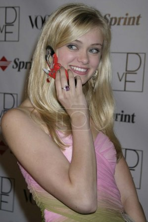 Sara Paxton at a party thrown by Samsung and Vogue...