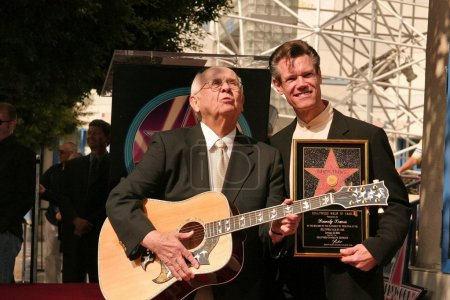Johnny Grant and Randy Travis