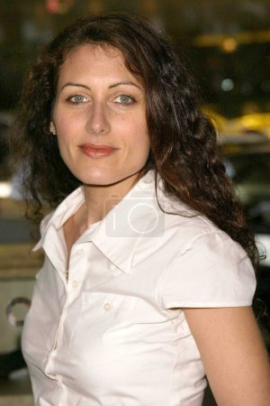 Photo pour Lisa Edelstein au Step Up Women's Network Inaugural Inspiration Awards benefiting Peace4Kids au Beverly Hilton Hotel, Beverly Hills, CA. 04-30-04 - image libre de droit