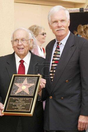 Honorary Mayor Johnny Grant and