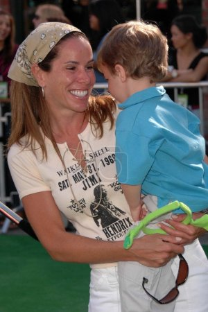 Melissa Rivers and son