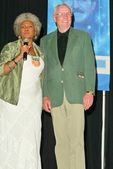 Nichelle Nichols and Neil Armstrong