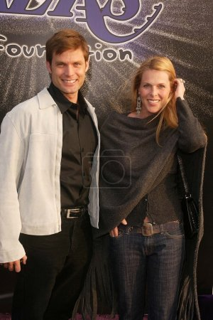 Casper Van Dien and Catherine