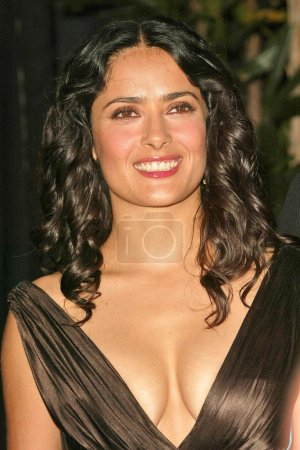 Photo for Salma Hayek at the 2004 Latin Recording Academy Person of the Year Tribute to Carlos Santana at the Century Plaza Hotel, Century City, CA. 08-30-04 - Royalty Free Image