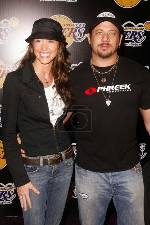 Shannon Elizabeth and Joe Reitman