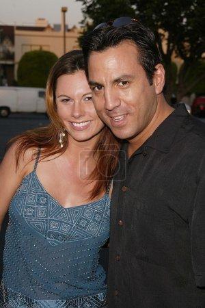 Valerie Baber and Leo Quinones