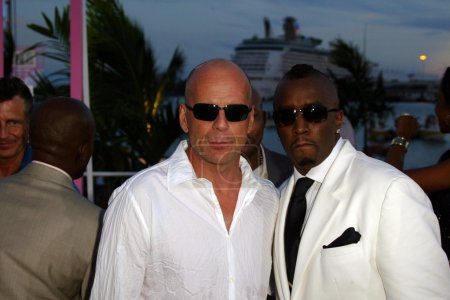 Poster: Bruce Willis and Sean Combs
