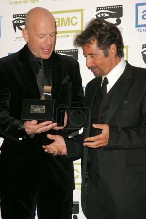 Bruce Willis and Al Pacino