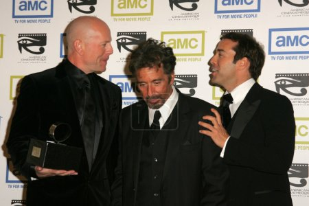 Bruce Willis with Al Pacino