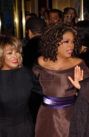 Tina Turner and Oprah Winfrey
