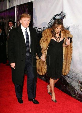 Дональд Трамп и Мелания Knauss