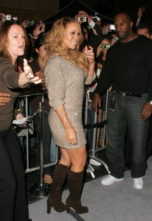 Mariah Carey In Store Appearance