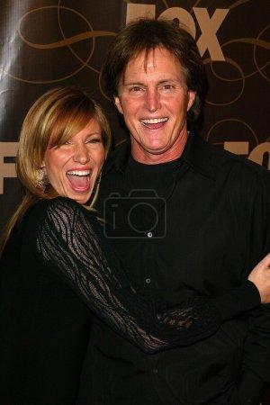 Deborah Gibson and Bruce Jenner