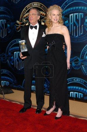 Sydney Pollack and Nicole Kidman
