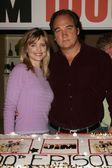 Courtney Thorne Smith and Jim Belushi