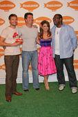 Ryan Seacrest, Randy Jackson, Simon Cowell and Paula Abdul