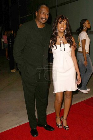 Solange Knowles with her father