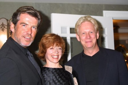 Pierce Brosnan Frances Fisher and