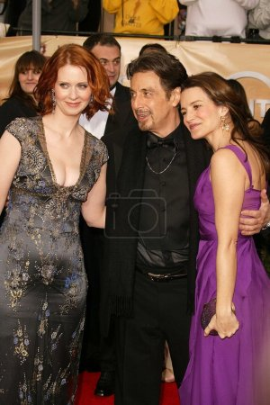 Cynthia Nixon Al Pacino and