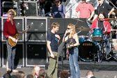 Ryan Seacrest and Sheryl Crow