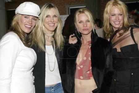 Natasha Henstridge, Alana Stewart, Nicolette Sheridan and a friend