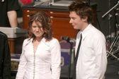 Kelly Clarkson and Clay Aiken
