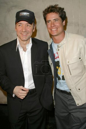 Kevin Spacey and Andrew Firestone
