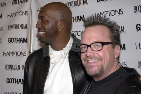 John Salley and Tom Arnold