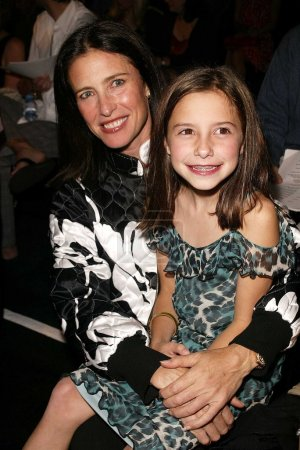 Mimi Rogers and daughter Lucy