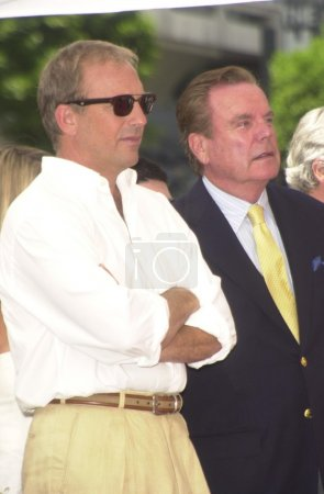 Kevin Costner and Robert Wagner