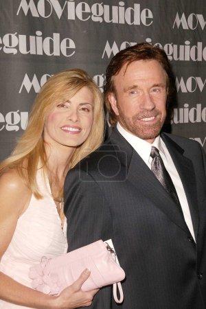 Чак Норрис и жена Генка