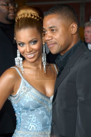 Beyonce Knowles and Cuba Gooding