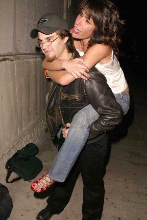 Johnny Whitworth and Vanessa Parise