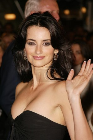 """Photo for Penelope Cruz at the premiere of Warner Bros. """"The Last Samurai"""" at Mann Village Theater, Westwood, CA 12-01-03 - Royalty Free Image"""