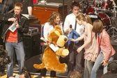 Ryan Seacrest, Kelly Clarkson, Clay Aiken, Michelle Trachtenberg and Rosanna Tavarez