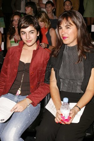 Camilla Belle and mother Christina