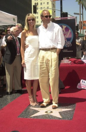 Kevin Costner and Christine Baumgarten