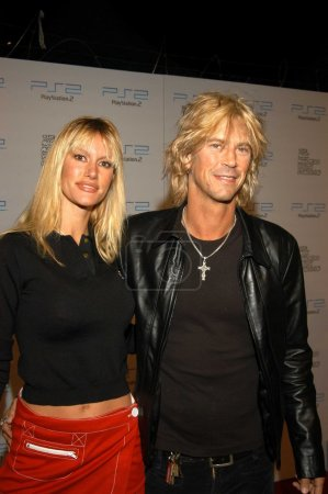 Photo for Duff McKagan at PlayStation 2 Triple Double Gaming Tournament, Club Ivar, Hollywood, Calif., 10-25-03 - Royalty Free Image